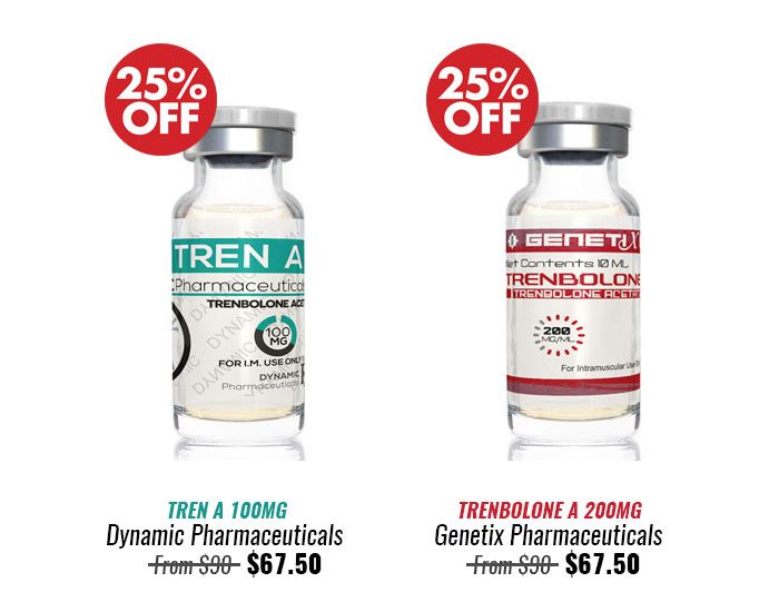 25% OFF All Week! Genetix and Dynamic Pharmaceuticals